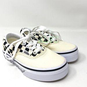 VANS Era Bmx Canvas  Cream Black Kid's Sneakers